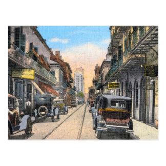 Calle real vieja New Orleans Postales
