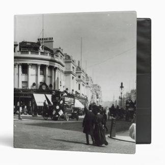 """Calle regente, Londres, c.1900 Carpeta 1 1/2"""""""