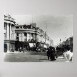 Calle regente, Londres, c.1900 Póster