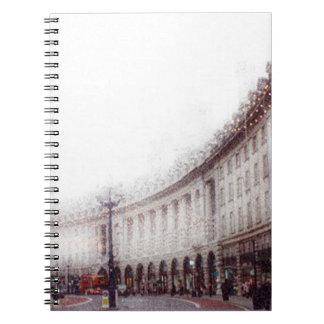Calle regente, Londres Note Book
