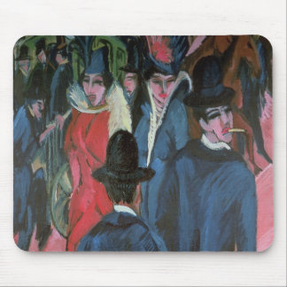 Calle Scene, 1913 de Berlín Alfombrillas De Ratones