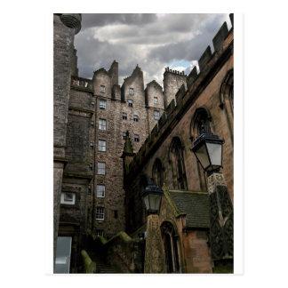 Calle secundaria de Edimburgo Escocia