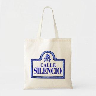 Calle Silencio placa de calle de Granada