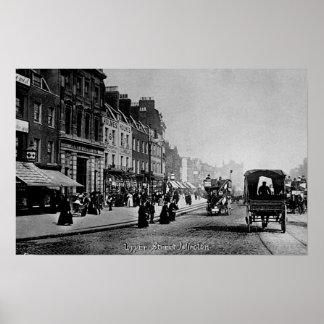 Calle superior, Islington, c.1906 Póster