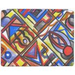 Calle urbana dos - arte abstracto pintado a mano cover de iPad