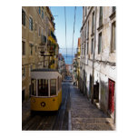 Calle y tranvía de Lisboa el alto de Bairro Tarjetas Postales