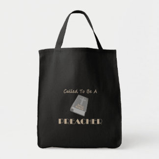 CALLED TO BE PREACHER DK TOTE BAG