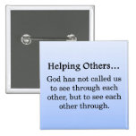 Called to Help Others Buttons