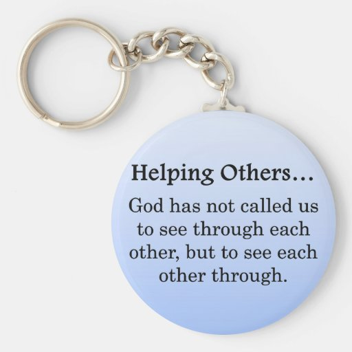 Called to Help Others Key Chain
