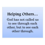 Called to Help Others Postcard