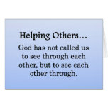 Called to Help Others Stationery Note Card