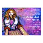 Called to the Torah Bat Mitzvah Invitation hebrew