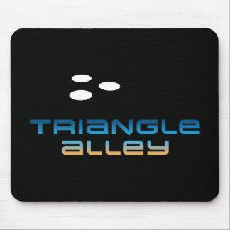 Callejón 1 del triángulo alfombrilla de ratón