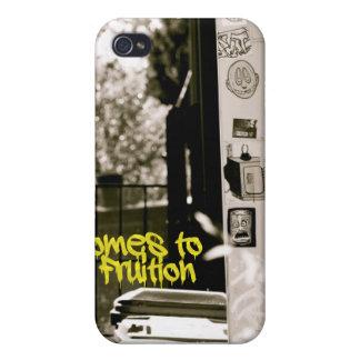 Callejón de B&W iPhone 4/4S Funda