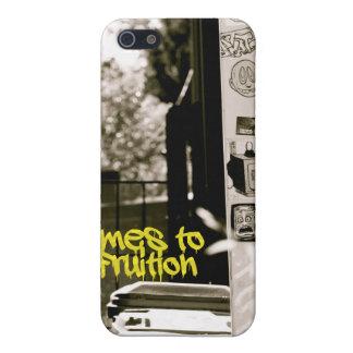 Callejón de B&W iPhone 5 Protectores