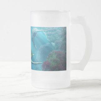Callejón de la tortuga taza de cristal