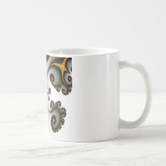 Callejón del fractal taza de café
