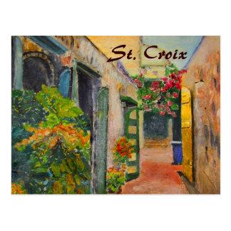 Callejón del St Croix Postal