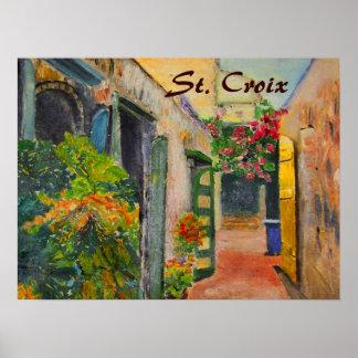 Callejón del St. Croix Póster
