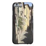 Callejón estrecho, Siena, Italia Funda Barely There iPhone 6
