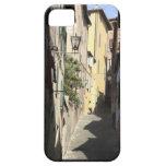 Callejón estrecho, Siena, Italia Funda Para iPhone SE/5/5s