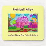 Callejón Mousepad 2 del Hairball Tapetes De Raton