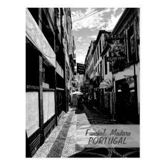 Callejones de Funchal: Postal de Madeira (Portugal
