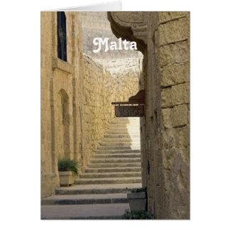 Callejones de Malta Felicitacion