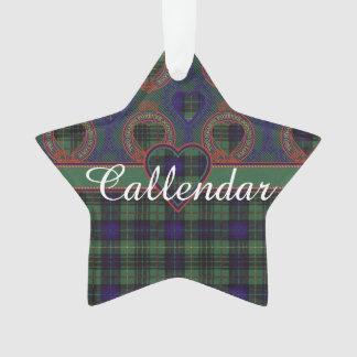 Callendar clan Plaid Scottish kilt tartan