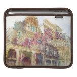 Calles de Amsterdam vieja Mangas De iPad