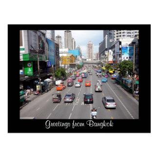 calles de Bangkok Tarjeta Postal