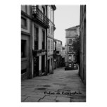 Calles de Compostela Póster