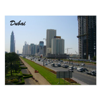 calles de Dubai Postales