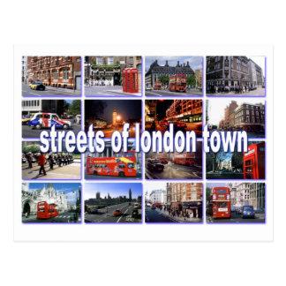 calles de la postal de Londres