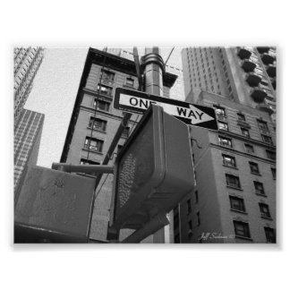 Calles de Nueva York Posters