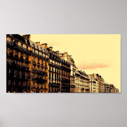 Calles de París Poster