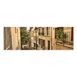 Calles de París Tarjeta De Visita