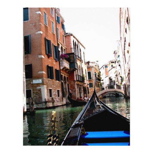 Calles de Venecia Tarjetas Publicitarias