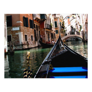 Calles de Venecia Invitacion Personalizada