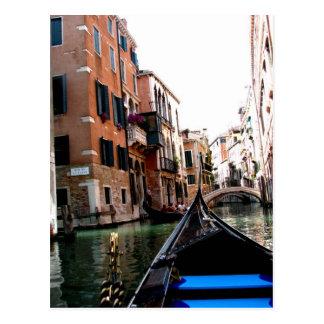 Calles de Venecia Tarjetas Postales