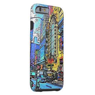 Calles del caso del iPhone 6 de New York City Funda De iPhone 6 Tough