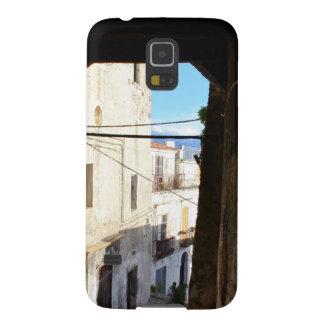 Calles estrechas de Scalea antiguo Carcasas De Galaxy S5