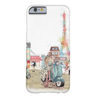 Calles lindas del collage de París Funda Para iPhone 6 Barely There