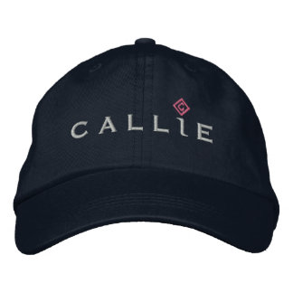 Callie Hat Embroidered Baseball Caps