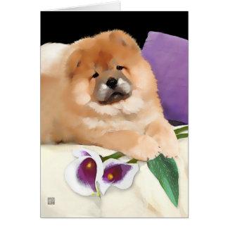 CALLIE heARTdog chow Card