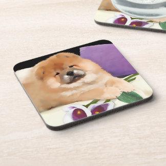 CALLIE heARTdog chow coasters