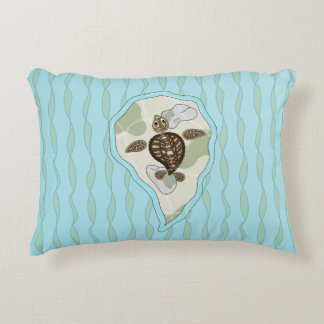 Callie the Sea Turtle Accent Pillow