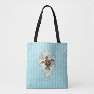 Callie the Sea Turtle All-Over-Print Bag