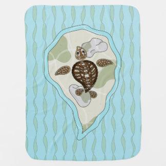 Callie the Sea Turtle Baby Blanket