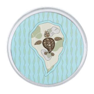 Callie the Sea Turtle Lapel Pin